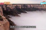 (粵)大峽谷現逆溫雲  山谷現仙境