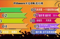 (粵)01/09卡拉O Fillmore 排行榜