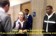 三藩市 (舊金山)公辯律師法庭外遭警探逮捕 引發華嘩然