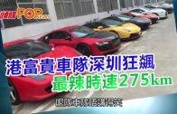 (粵)港富貴車隊深圳狂飊  最辣時速275km