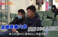 (港聞)流感再奪六命 累計290人死亡