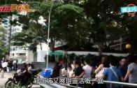 (粵)瞻仰李光耀24小時開放 政府派水畀民眾消暑