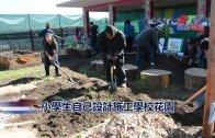 (國)小學生自己設計施工學校花園