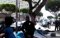 Police Shoot and Kill Homeless Man – Downtown L.A.