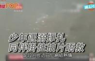 (粵)少年遇溺掙扎 同伴掛住拍片唔救