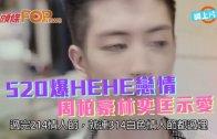 (粵)520爆HEHE戀情 周柏豪林匡示愛