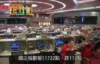 (港聞)中港股市皆跌 恒指險守兩萬五