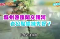 (粵)蘇州婆媳鬧交跳河 老公點樣揀先好?