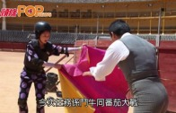 (粵)千嬅被西班牙公牛撞飛  背脊落地險傷大陣