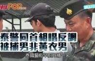 (粵)泰警同首相唱反調  被捕男非黃衣男