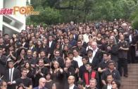 (港聞)港大二千師生沉默抗議 捍衛院校自主