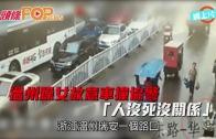 (粵)溫州躁女故意車撞協警 「人沒死沒關係」