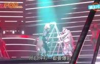 (粵)Britney爆衫露肥背 男伴舞解救冇騰雞