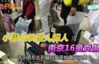 (粵)小學生秋遊人踩人 南京16童受傷