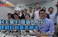 (港聞)民主黨43席新人上位 建制針對葵青削半