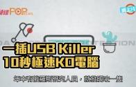 (粵)一插USB Killer 10秒極速KO電腦