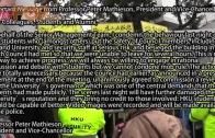 (港聞)馬斐森譴責學生衝擊錄影片段將交予警方