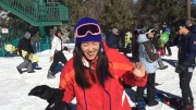 SNOWBOARDING at BIG BEAR!