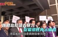 (港聞)團體高院譴責暴力 促嚴懲旺角示威者