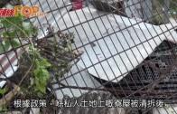 (港聞)古洞村村民會見地政總  署方拒原址重建