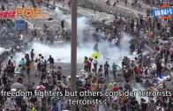 (港聞)A riot, a disturbance, or an incident?