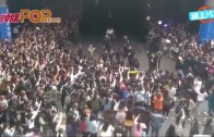 (粵)BigBang登陸合肥 粉絲擠爆場面夠嚇