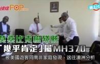 (粵)莫桑比克檢殘骸 「幾乎肯定」屬MH370