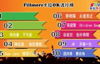 (粵)04/08卡拉O Fillmore排行榜