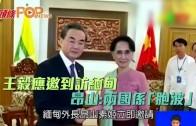 (粵)王毅應邀到訪緬甸 昂山:兩國係「胞波」