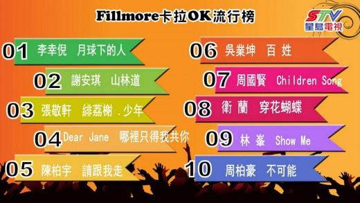 (粵)05/06卡拉O Fillmore排行榜