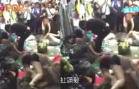 (粵) 內地商場大混戰  膠凳垃圾桶拿起就打