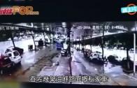(粵) 江西馬咯開大口  路陷吞車又吞樹