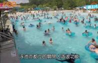 (粵)美3歲女衝浪池遇溺 眼利救生員跳水抱起