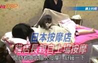 (粵)日本按摩店 貓店長親自上場按摩