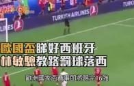 (粵)歐國盃睇好西班牙  林敏驄教路罰球落西