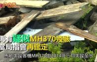 (粵)再有疑似MH370殘骸 當局指會再鑑定