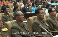 (粵)金仔開會瞌眼瞓  北韓電視台播咗出街