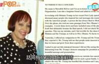 (粵)特朗普夫人演講涉抄襲  撰稿人認錯唔使祭旗