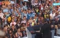 (粵)奧巴馬為希拉莉站台  現身黨代表大會力撐