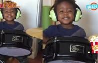 (粵)兩歲打鼓似模似樣 黑人B仔音樂天才