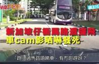 (粵)新加坡仔衝馬路遭撞飛 車cam影晒嚇餐死