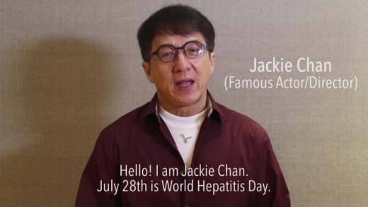 Jackie Chan Public Service Announcement for World Hepatitis Day