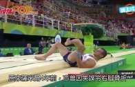 (粵)法選手跌斷右腳到左腳  再跌擔架落地夠晒慘