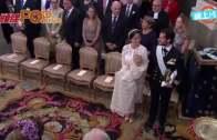 (粵)5個月大瑞典小王子  著百年白袍受洗驚驚