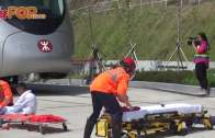 (港聞)消防學院3實景訓練場 仿真車站飛機起火