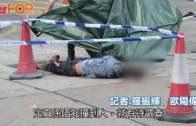 (港聞)深水埗男倒斃疑遭撞死  警7小時後拘貨車司機