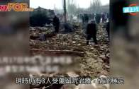 (粵)寧夏重型貨車失控 撞毀民居至少4死