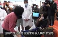 (港聞)初三6000人急症室求診  醫管局 : 長假後更擠迫
