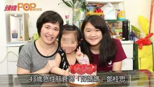 (港聞)再有善心人捐屍肝救母 女兒:感恩出現2次奇蹟!
