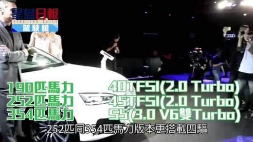 (粵)奧迪新A5  流麗出擊